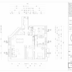Aleja Przyjaciół, Warszawa: styl , w kategorii Ściany zaprojektowany przez KUKA Concept Studio