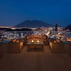 Metropolitan Center: Azoteas de estilo  por Enrique Serrano  |  Fotógrafo de Arquitectura e Interiores