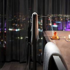 Live Aqua | Monterrey Valle: Hoteles de estilo  por Enrique Serrano  |  Fotógrafo de Arquitectura e Interiores