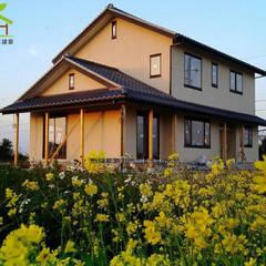 Villa de style  par 詮鴻國際住宅股份有限公司