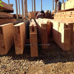 客製化設計-和風農舍-日式綠建築:  木屋 by 詮鴻國際住宅股份有限公司