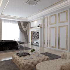 Double Storey House Corner Lot In Pelangi Indah:  Bedroom by Enrich Artlife & Interior Design Sdn Bhd