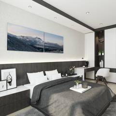 Simple design bedroom:  Bedroom by Enrich Artlife & Interior Design Sdn Bhd
