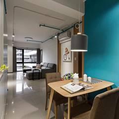 輕.透:  餐廳 by 築川室內裝修設計有限公司