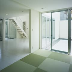 Salas de entretenimiento de estilo moderno de Studio Noa Moderno