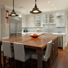 Luxury Kalorama Condo Renovation in Washington DC: classic Kitchen by BOWA - Design Build Experts