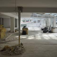 Die Sanierung - Komplettentkernung:  Wintergarten von architekturbuero dunker