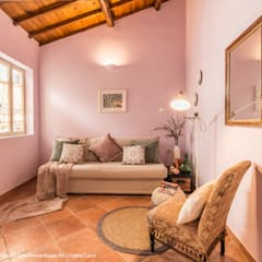 Livings de estilo  por Sapere di Casa - Architetto Elena Di Sero Home Stager,