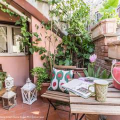 Terras door Sapere di Casa - Architetto Elena Di Sero Home Stager