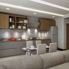 VERO CONCEPT MİMARLIK – Villa Fenerburnu - Çeşme:  tarz Mutfak