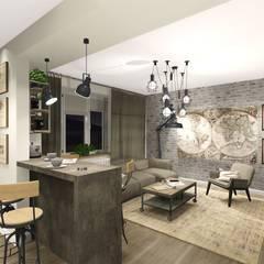 :  Kitchen by KOKON zespół architektoniczny