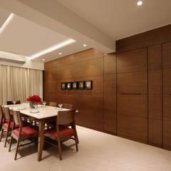 safal penthouse Modern study/office by USINE STUDIO Modern