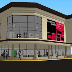 Centros de exhibiciones de estilo  por DAC DISEÑO ARQUITECTURA Y CONSTRUCCION