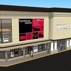 muebleria: Oficinas y tiendas de estilo  por DAC DISEÑO ARQUITECTURA Y CONSTRUCCION