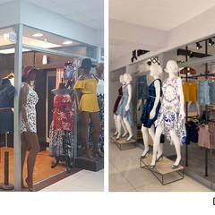 Antes y después: Espacios comerciales de estilo  por Priscila Meza Marrero