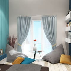 """BEACH"" concept for kids bedroom:  Kamar Tidur by AIRE INTERIOR"