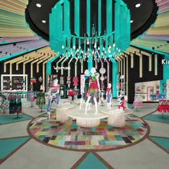 Concept Store Desigual: Espacios comerciales de estilo  por Priscila Meza Marrero