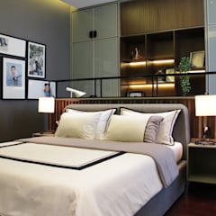 BS RESIDENCE:  Kamar Tidur by ALIGN architecture interior & design