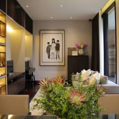 BS RESIDENCE: Ruang Kerja oleh ALIGN architecture interior & design,