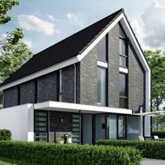 Nieuw woning Almere: moderne Huizen door Bongers Architecten