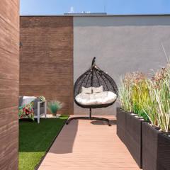 Apartament Bursztynowy: styl , w kategorii Dom rustykalny zaprojektowany przez Viva Design - projektowanie wnętrz