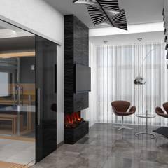 Дизайн-проект трехэтажной квартиры: Спа в . Автор – Студия дизайна и декора Светланы Фрунзе