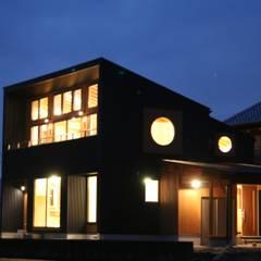 外観1: verita 一級建築士事務所が手掛けた木造住宅です。