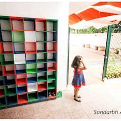 Wacky house:  Schools by Sandarbh Design Studio