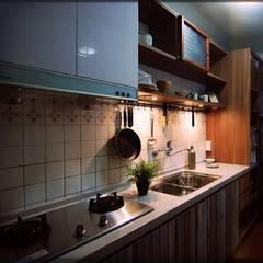 風景‧私宅:  廚房 by EO design studio