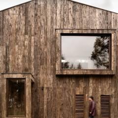 Dx Arquitectos:  tarz Kütük ev