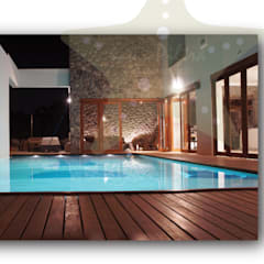 residencia club de golf: Casas de campo de estilo  por Stadia Marina
