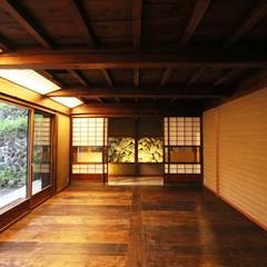 東御市 草如庵再生工事: 安藤建築設計工房が手掛けたリゾートハウスです。