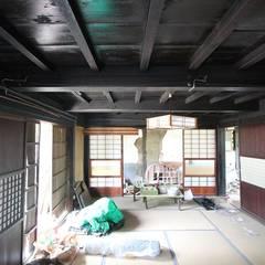 上の写真の再生前: 安藤建築設計工房が手掛けたリゾートハウスです。