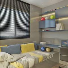Dormitorio infantil : Quartos dos meninos  por Elaine Orosco