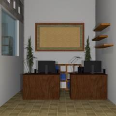 Desain Interior Rumah Sakit Paru Jember: Rumah Sakit oleh Azka Studio, Minimalis
