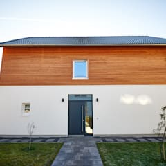 Passive house by architekturbuero dunker,