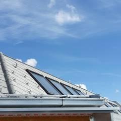 Dachbodenausbau 1070 Wien:  Dach von Architektin Renate Prewein