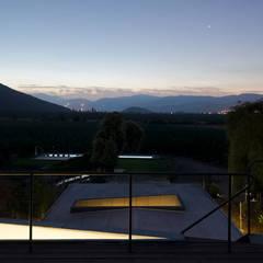 Casa Nogales : Casas de campo de estilo  por Dx Arquitectos