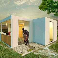 Prefab woning door Variable