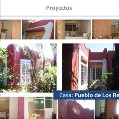 Detalles Casa Topiltzin: Casas unifamiliares de estilo  por GSG Arquitectura Sa de CV
