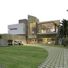 casa A1: Casas de estilo  por CASTELLINO ARQUITECTOS (+)