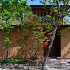 外観: 水野建築研究所が手掛けた木造住宅です。