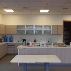 HABILITACION OFICINAS INALEN- ENEA: Cocinas equipadas de estilo  por AOG SPA