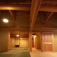 木造伝統構法の日本家屋「世田谷の家」: 木造伝統構法 惺々舎が手掛けた和室です。