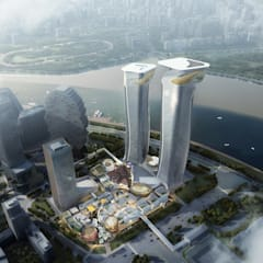 Aedas designs a dragon-inspired cultural-tourism complex in Zhuhai, China:  Commercial Spaces by Aedas
