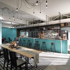 مطاعم تنفيذ 一水一木設計工作室