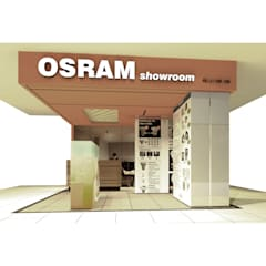 Osram Mini Showroom (Proposal) - Configuration 3:  Ruang Komersial by studio tektonik