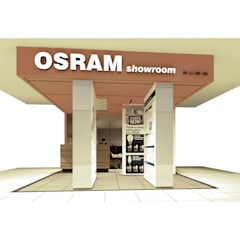 Osram Mini Showroom (Proposal) - Configuration 1:  Ruang Komersial by studio tektonik