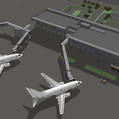 Bandara Radin Inten Lampung:  Lapangan terbang by MODULA