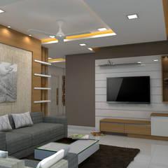 اتاق نشیمن by shree lalitha consultants